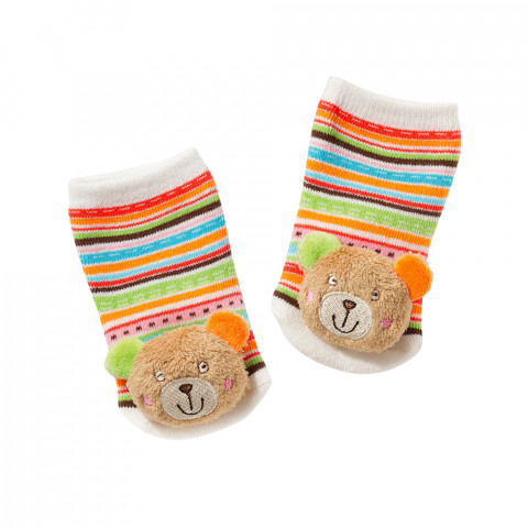 Rasselsocken Teddy