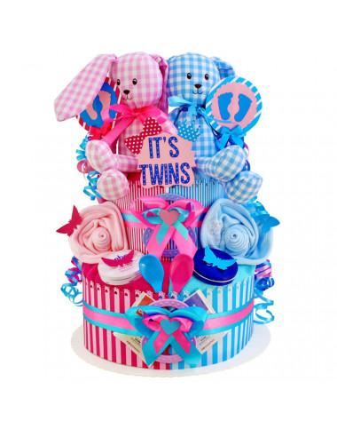 Windeltorte für Zwillinge 1.174